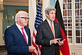 Secretary Kerry and German Foreign Minister Steinmeier Address Reporters in Washington (28347291432).jpg