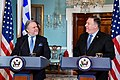 Secretary Pompeo and Greek Acting Foreign Minister Katrougalos Address Reporters in Washington (46305614291).jpg