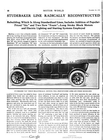 Sedan (automobile) - Motor World November 14, 1912