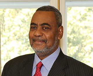 Seif Sharif Hamad First Vice President of Zanzibar