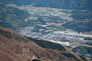 Sekigahara, Gifu - Image: Sekigahara from Mount Ibuki