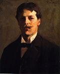 Self-Portrait oil Frank Weston Benson.jpg