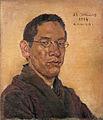 Self-portrait by Kishida Ryusei (Shimane Art Museum).jpg