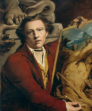 1803 in art - Image: Selfportrait James Barry 1803