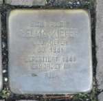 Selma Kiefer Stolperstein Osterath.png
