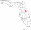 Location of Seminole County