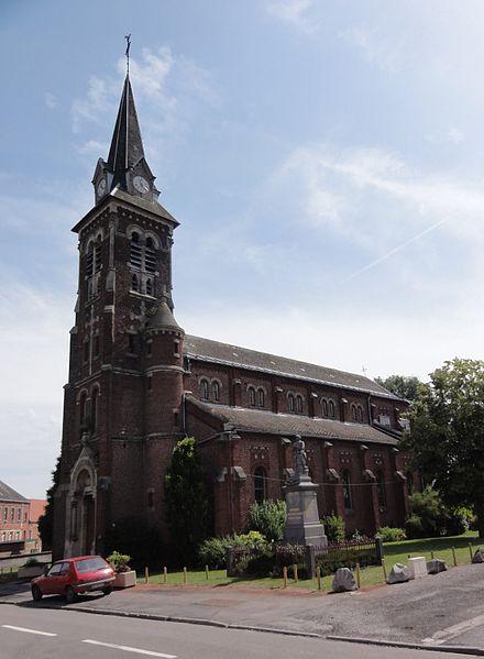 Sepmeries (Nord,Fr) église