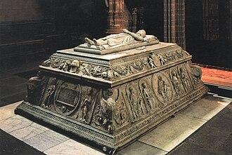 John, Prince of Asturias -  Tomb of Prince John at Real Monasterio de Santo Tomás in Ávila
