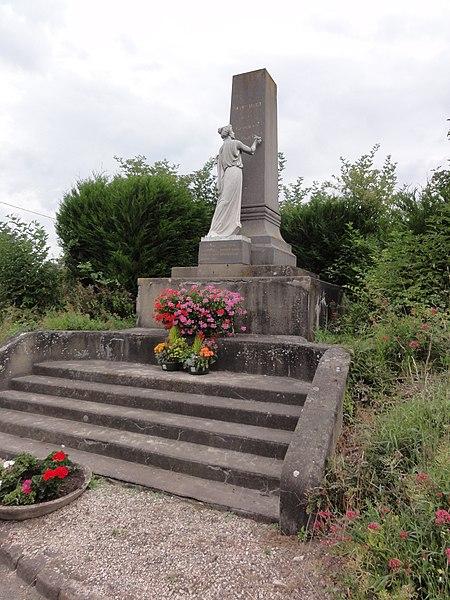 Sequehart (Aisne) monument aux morts
