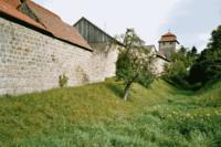 Sesslach Oberfranken Stadtbefestigung und Graben.png