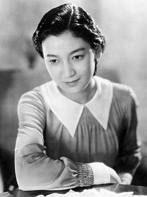 Setsuko Hara - in Atarashiki Tsuchi (1937)