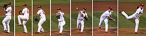 Seung-hwan Oh - A sample of Oh's pitching motion in 2016