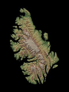 Axel Heiberg Island island in the Qikiqtaaluk Region, Nunavut, Canada