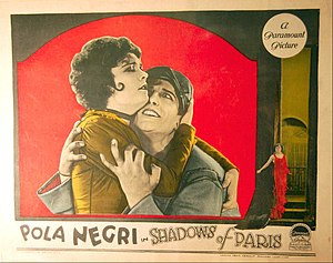 Shadows of Paris - Lobby card