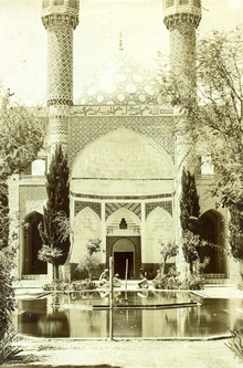 Shah Nematollah Vali Shrine in Qajar era.png