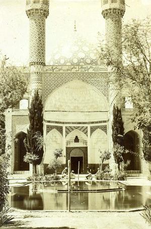 Shah Nimatullah Wali - Shah Nematollah Vali Shrine in Qajar era.