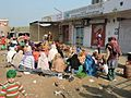 Shaheedi Jor Mela,a view of langar,village Chuharr Majra,Chandigarh-Fatehgarh road, Punjab,India 03.jpg