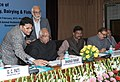Sharad Pawar launching the National Animal Disease Reporting System (NADRS), at the National Conference of State Ministers of Animal Husbandry, Dairy Development and Fisheries.jpg