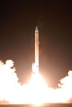 Iransk raketopsendelse