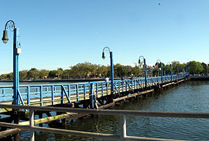 Sheepshead Bay, Brooklyn - Ocean Avenue Footbridge