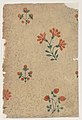 Sheet with overall dot pattern with bouquets Met DP886707.jpg