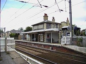Shelford railway station - Image: Shelford Railway Station