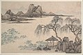 Shen Zhou - Landscape with Pavilion and Willows - 69.131.10 - Metropolitan Museum of Art.jpg