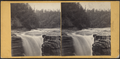 Sherman Fall's view, Trenton Falls, from Robert N. Dennis collection of stereoscopic views.png
