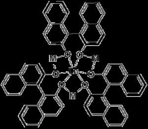 Shibasaki catalysts - General structure of Shibasaki catalysts