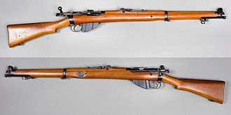 Lee–Enfield - Image: Short Magazine Lee Enfield Mk 1 (1903) UK cal 303 British Armémuseum
