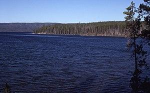 Shoshone Lake - Image: Shoshone Lake 1989
