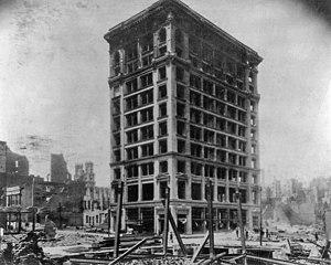 Shreve & Co. - Image: Shreve Building Amid Ruins of San Francisco 1906 earthquake