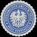 Siegelmarke Bürgermeister-Amt zu Morbach Kreis Bernkastel W0380476.jpg