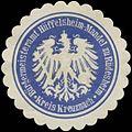 Siegelmarke Bürgermeisteramt Hüffelsheim-Mandel zu Rüdesheim Kreis Kreuznach W0382976.jpg