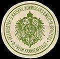 Siegelmarke Delegierter des kaiserlichen Kommissars und Militär - Inspekteurs der freiwilligen Krankenpflege W0246907.jpg