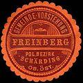 Siegelmarke Gemeinde-Vorstehung Freinberg - Pol. Bezirk Schärding Ob. Öst. W0261715.jpg