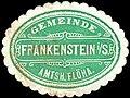 Siegelmarke Gemeinde Frankenstein in Sachsen - Amtsh. Flöha W0308124.jpg