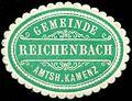Siegelmarke Gemeinde Reichenbach - Amtshauptmannschaft Kamenz W0252244.jpg