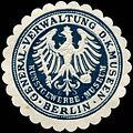 Siegelmarke Kunstgewerbe - Museum - General - Verwaltung der Königlichen Museen - Berlin W0226213.jpg
