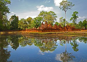 Siem Reap Reflections (CAMBODIA-REFLECTION-BANTEAY SREI) IV (1071285470).jpg