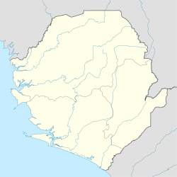 Freetown is located in Sierra Leone