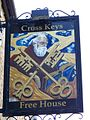 Sign for the Cross Keys - geograph.org.uk - 1587505.jpg