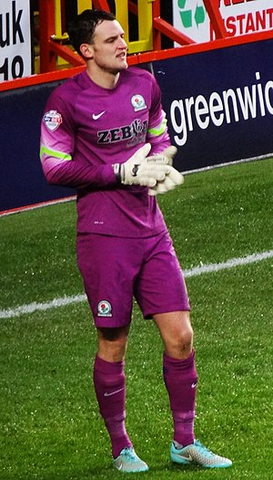 Simon Eastwood - Eastwood playing for Blackburn Rovers in 2015