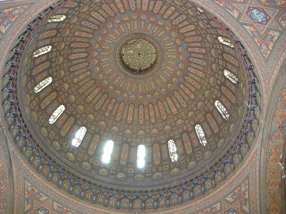 Sinagoga di firenze, interno, cupola 02