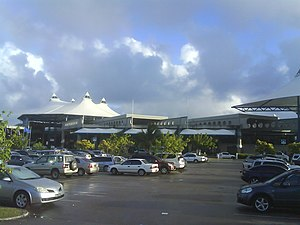 Grantley Adams International Airport - the renovated terminal