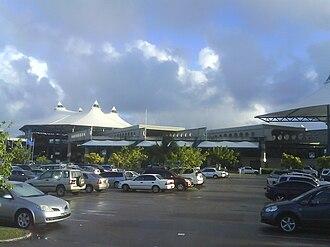 Grantley Adams International Airport - the renovated terminal