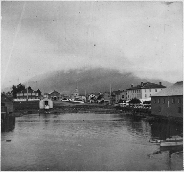 Sitka, Alaska in 1901.