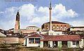Skopje, razglednica so Sultan Muratova dzamija, 1931.jpg