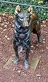 Skulptur Hardenbergplatz 8 (Tierg) Blindenhund&Otto Richter&.jpg