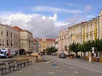 Slavonice, náměstí Míru, SZ 02.jpg